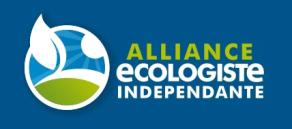 """Alliance écologiste indépendante se positionne """" au-delà de la droite et de la gauche"""" selon les propos de P. Dargagnon pour La Dépêche."""