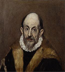 """""""Portrait d'un homme """", 1590-1600, El Greco"""