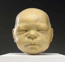 Maquette pour « Tête d'un bébé », 2003