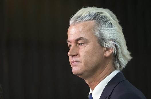 Geert Wilders, leader du parti d'extrême-droite aux Pays-Bas