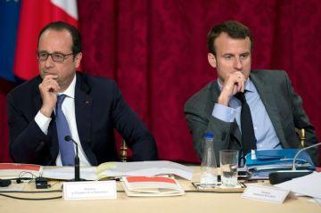 le-president-francois-hollande-et-le-ministre-de-l-economie-emmanuel-macron-le-16-juin-2016-a-paris_5637945