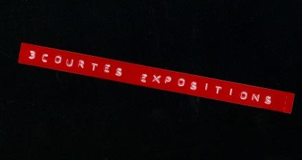 3 courtes expos