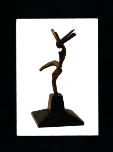 """""""Petite danseuse"""" sculpture de Julio Gonzalez, exposition Gonzalez/ Picasso : une amitié de fer."""