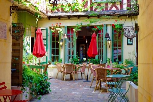 Petit restaurant où nous ne nous sommes pas arrêtées