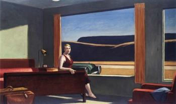 Western Motel, E. Hopper, 1957