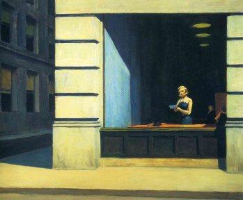 New York Office, E. Hopper, 1962