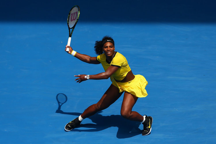 Serena williams une sportive de haut niveau
