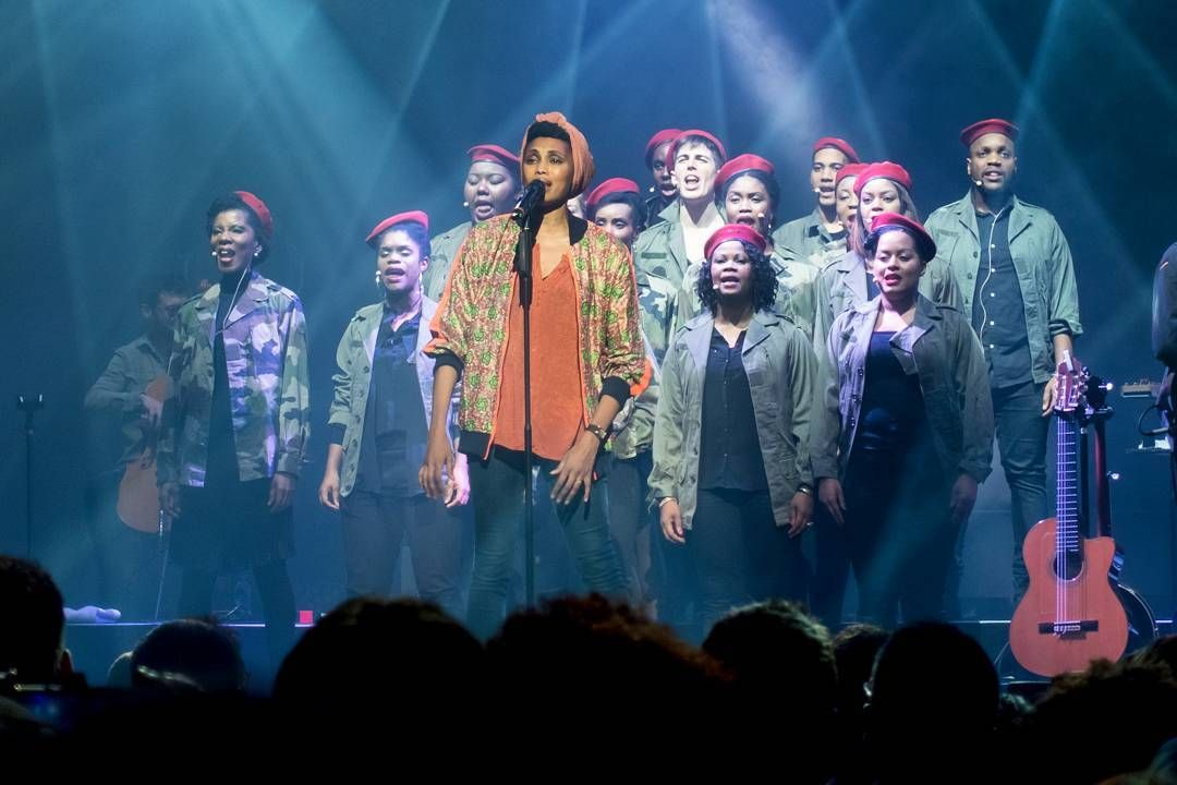 Imany concert choeur chorale