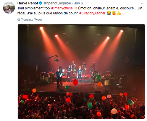 Tweet Imany Casino de Paris 2