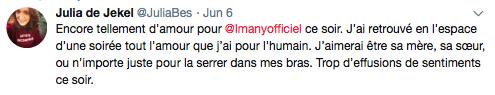Tweet Imany Casino de Paris 1